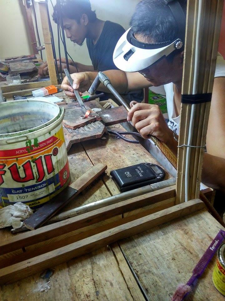 Proses 1 Pembuatan Cincin